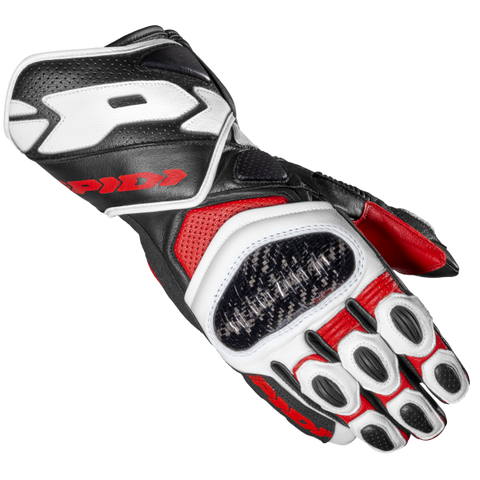 Spidi Carbo 7 Red Glove