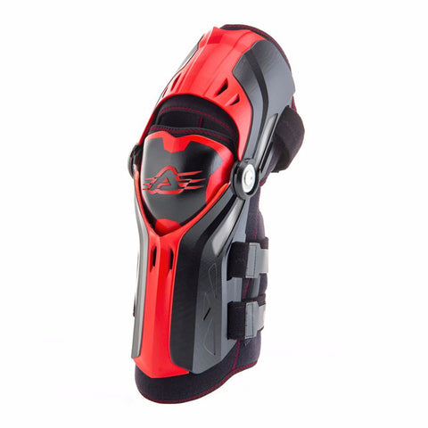 Acerbis Ginocchiera Gorilla Pair Black/Red Knee Guard