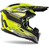 Airoh Aviator 3 Wave Yellow Matt Helmet