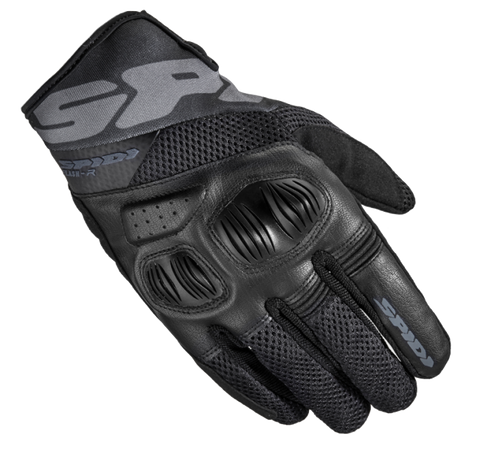 Spidi Flash-R Evo Tex Black Gloves