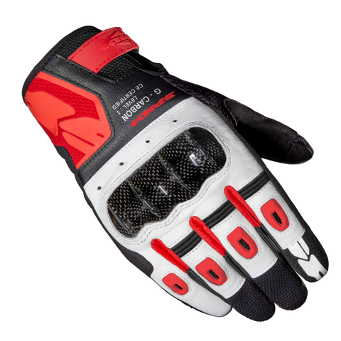 Spidi G-Carbon Red/Black Glove
