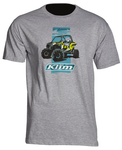 Klim RZR Graphic T Light Gray Shirt