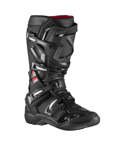 Leatt GPX 5.5 FlexLock Black Boot