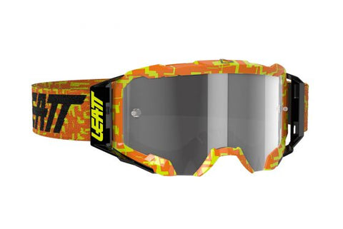 Leatt Goggle Velocity 5.5 Neon Orange Light Grey 58%