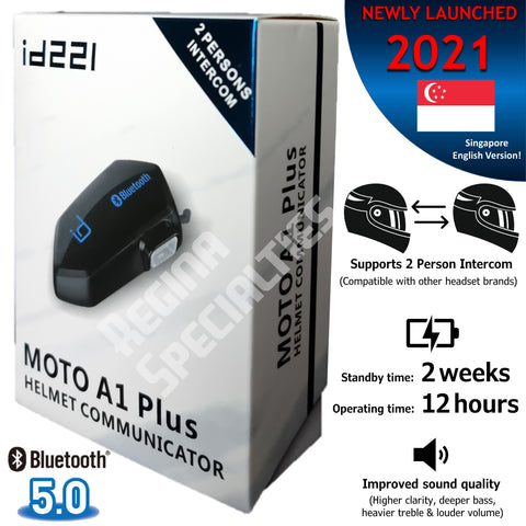 id221 Moto A1 Plus Bluetooth Headset