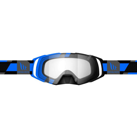MT Helmets MX Evo Stripes Black/Blue Goggle