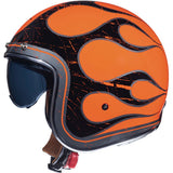 MT Helmets Lemans 2 SV Flaming Gloss Fluor Orange Helmet
