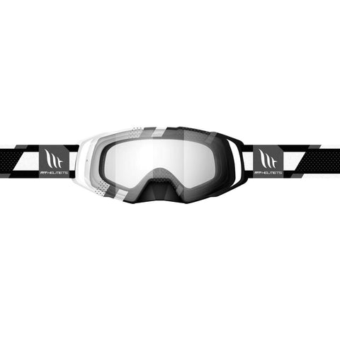 MT Helmets MX Evo Stripes Black/White Goggle