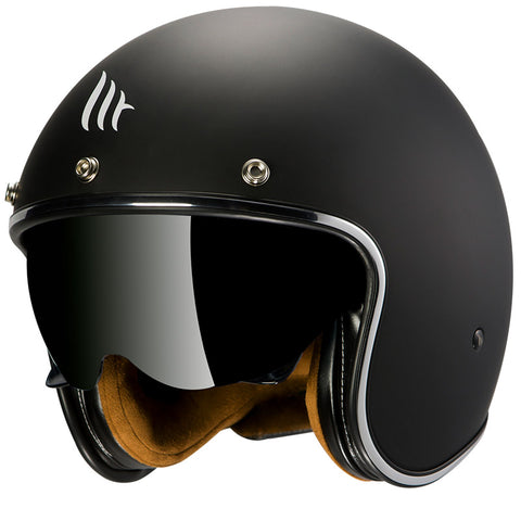 MT Helmets Lemans 2 SV Solid A1 Matt Black Helmet