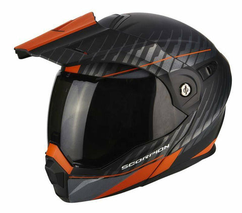 Scorpion ADX-1 Tucson Dual Black/Orange Helmet