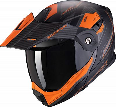 Scorpion ADX-1 Tucson Matt Black/Orange Helmet