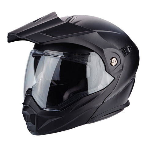 Scorpion ADX-1 Solid Matt Black Dual Helmet