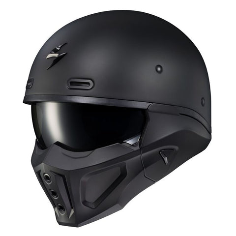 Scorpion Scorpion Covert X Matt Black Helmet