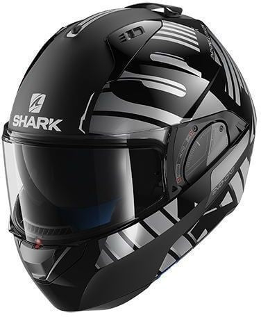 Shark Evo-One 2 Lithion Dual Black Chrome Antrhacite (KUA)