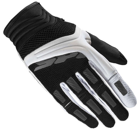 Spidi Mega-X Lady Black White Gloves