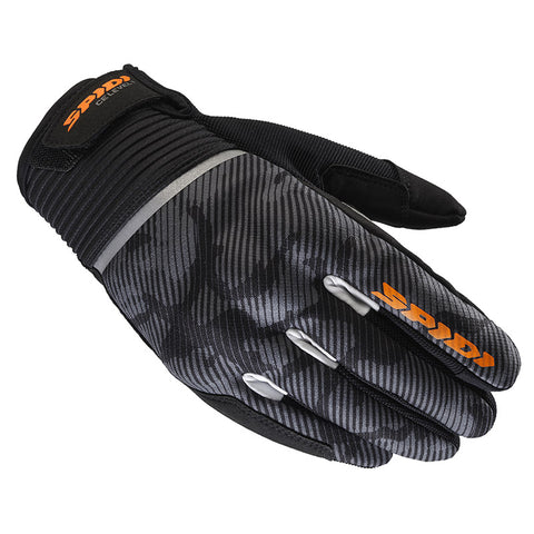 Spidi Flash CE Black Camouflage Gloves