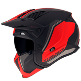 MT Helmets Streetfighter SV Twin C5 Matt Red Helmet