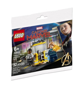 LEGO® Marvel Captain Marvel and Nick Fury Polybag 30453