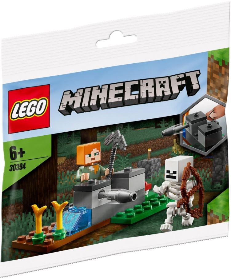 LEGO® Minecraft™ The Skeleton Defence Polybag 30394