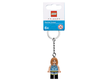 Load image into Gallery viewer, LEGO® Ideas Rachel Keyring 854120