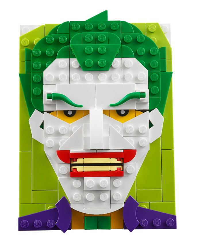 LEGO® Brick Sketches™ The Joker 40428