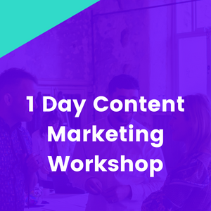 1-day Content for Inbound Marketing In-Person Workshop