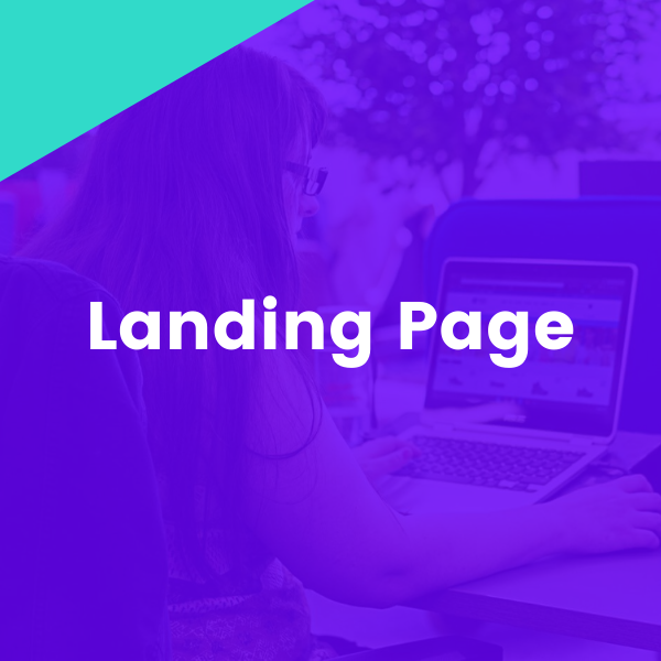 Landing page with thank you page