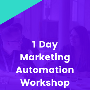 1-day Marketing Automation In-Person Workshop