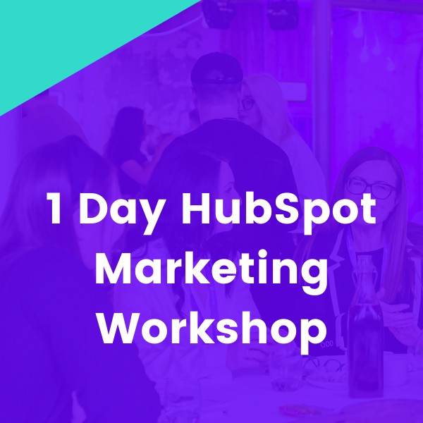 1-day HubSpot Marketing Hub In-Person Workshop