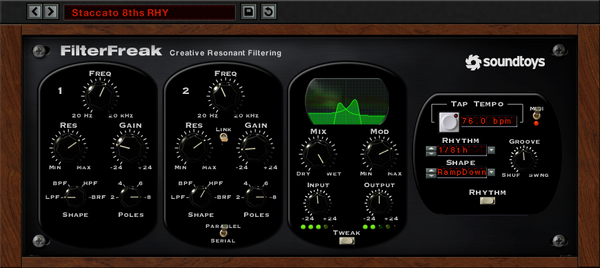 Soundtoys FilterFeak