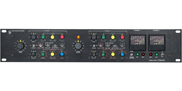 Q2 Audio F760X-RS Compex Limiter - Arda Suppliers