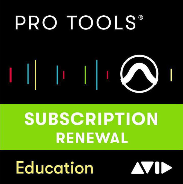 Avid Pro Tools 1 Year Subscription Renewal EDU