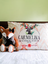 Deer Girl Pillowcase