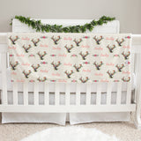 Deer Girl Baby Deluxe Blanket