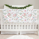 Abigail Floral Baby Deluxe Blanket