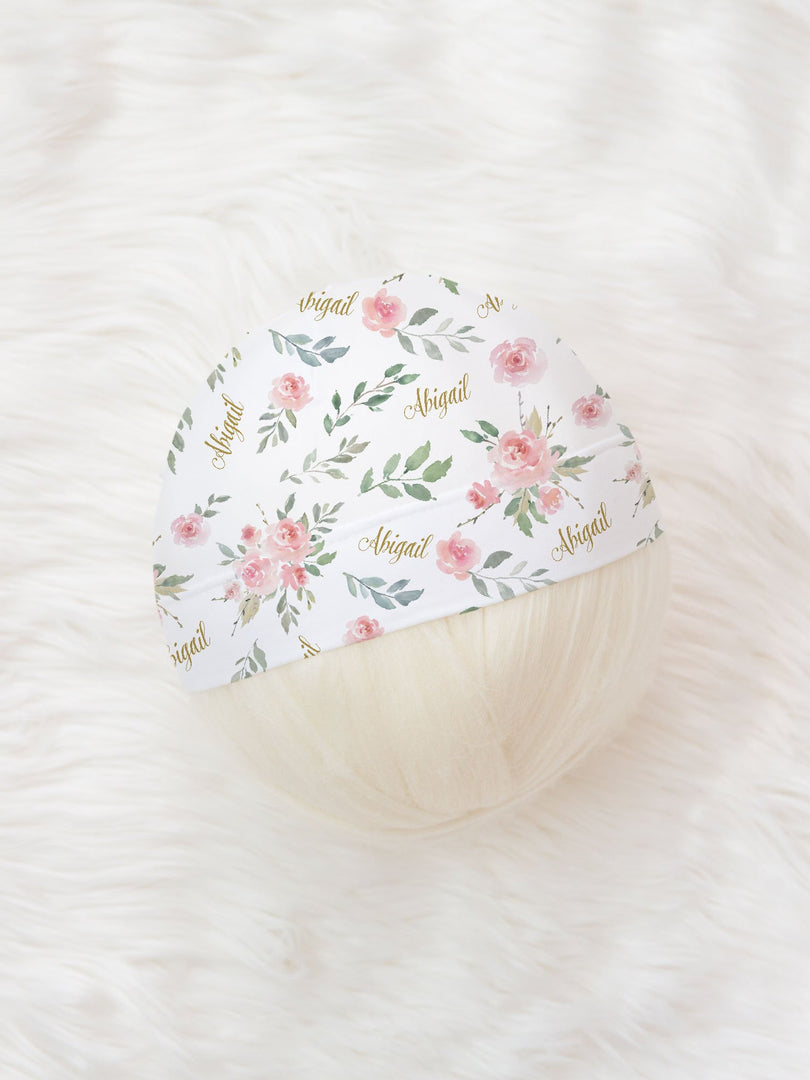 Abigail Floral Hat or Headband