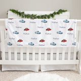 Antique Trucks Baby Deluxe Blanket