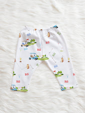 golf pants for baby boy with name