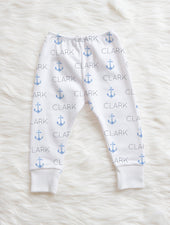 nautical blue pants for baby boy