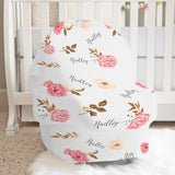 Blush Peony Car Seat Cover