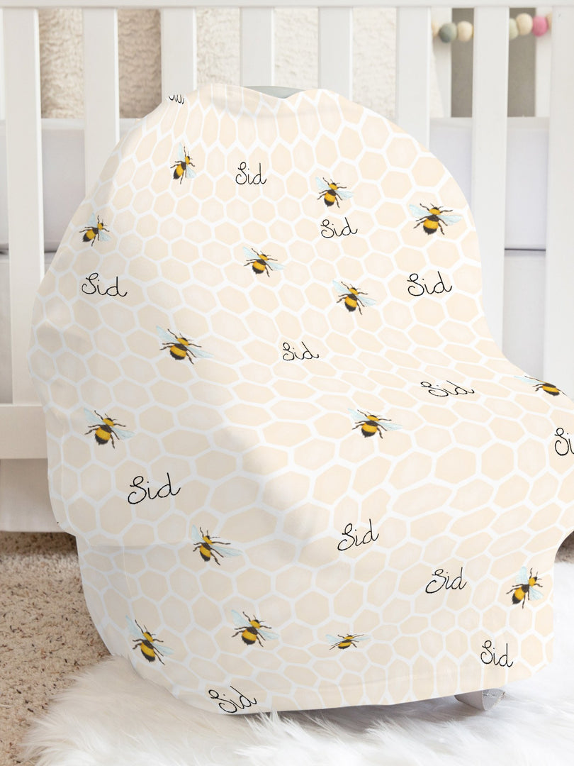 Bumblebees for Sid Car Seat Cover