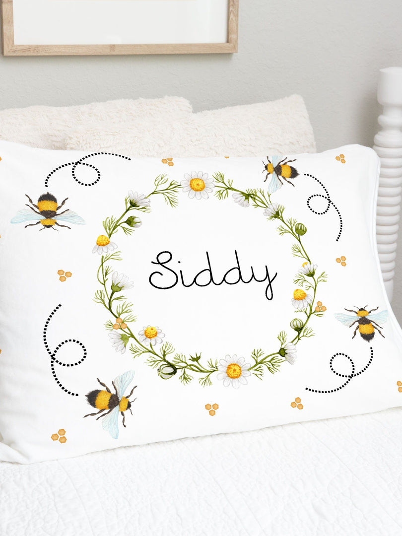 Bumblebees for Sid Pillowcase