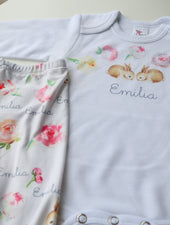 boutique baby clothes with name, coming home outfit baby girl