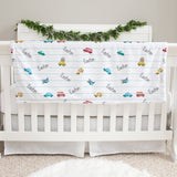 Cars and Things That Go Baby Deluxe Blanket