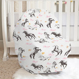 Christina's Wild Horses Girl Car Seat Cover