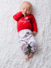 Baby outfit for christmas photo