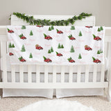 Christmas Tree Farm Baby Deluxe Blanket