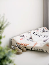 Deer and Antler Changing Pad Cover