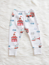 Frankie the Fireman Leggings