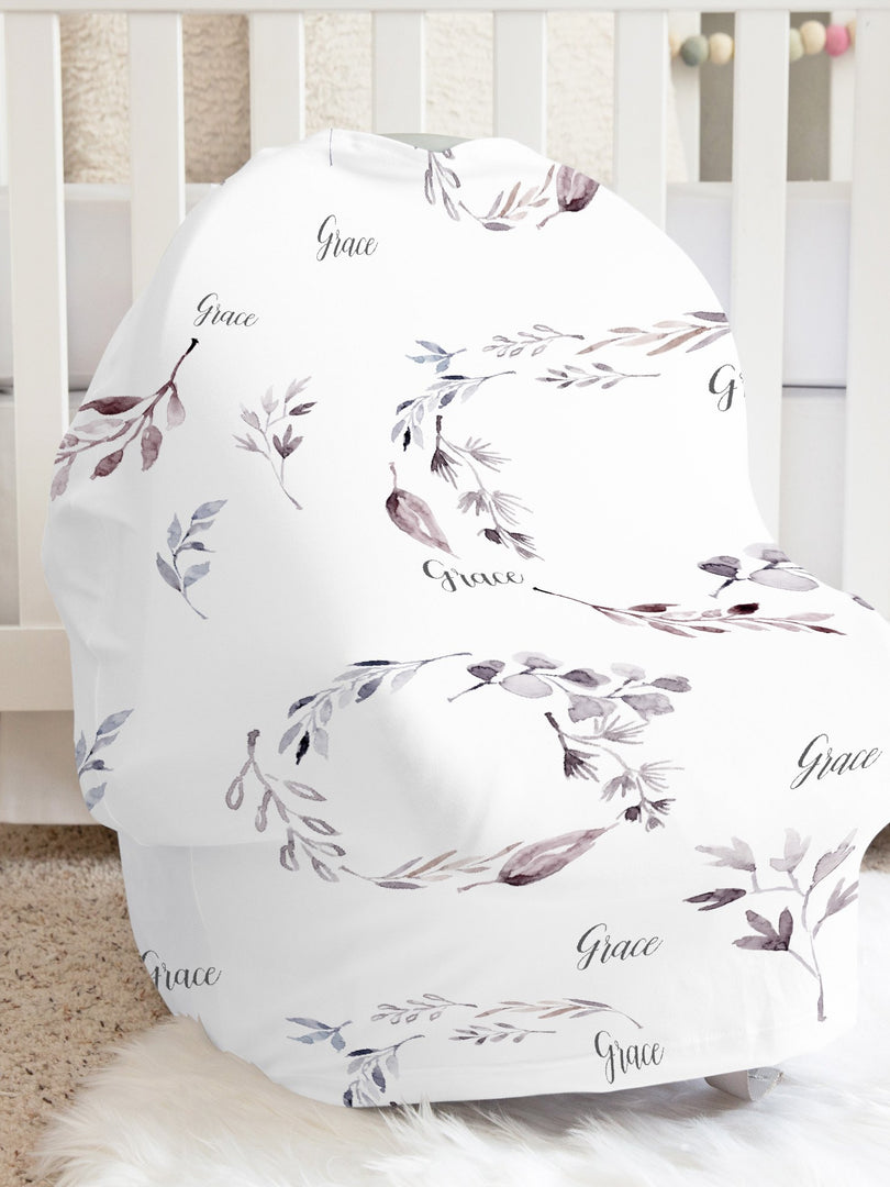 Grace Whispers Car Seat Cover